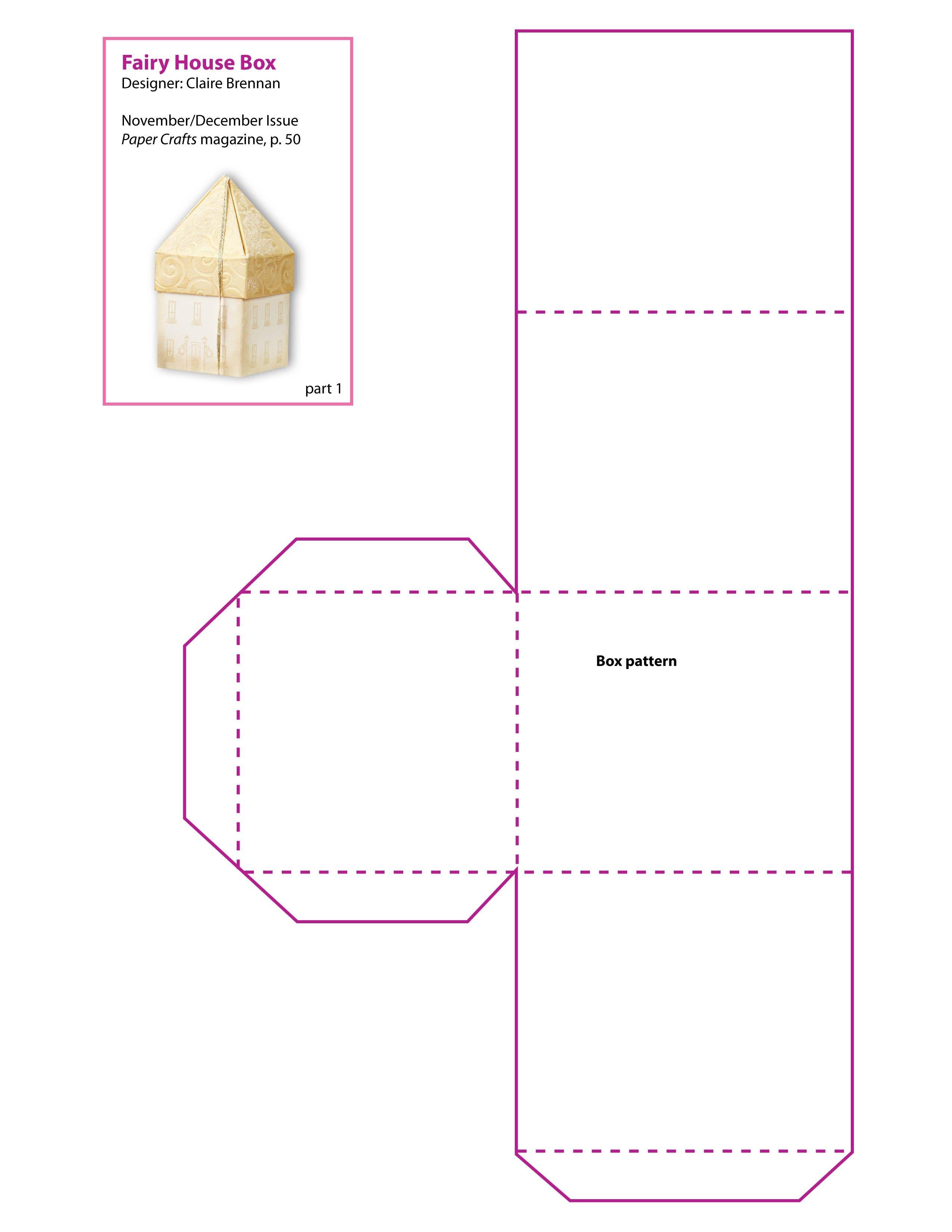 Free Printable Boxes Patterns | Free Printable Scrapbook Pages,print - Box Templates Free Printable