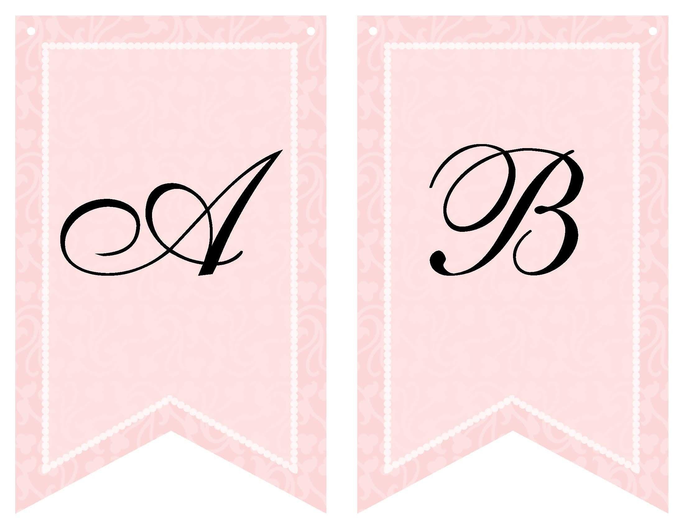 Free Printable Bridal Shower Banner   Vow Renewal   Wedding Shower - Free Printable Miss To Mrs Banner