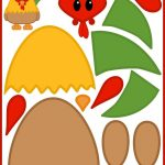 Free Printable Build A Rooster! / Printable Animals Series   Free Printable Farm Animal Cutouts