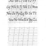 Free Printable Calligraphy Alphabet Practice Sheets   Scrapbooking   Free Printable Calligraphy Worksheets