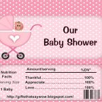 Free Printable Candy Bar Wrappers For Baby Showers(Boy Or Girl   Free Printable Candy Bar Wrappers