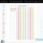 Free Printable Checklists | Acme Of Skill   Free Printable Checklist