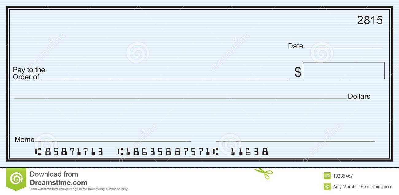 Free Printable Checks Template | Template | Blank Check, Templates - Free Printable Checks Template