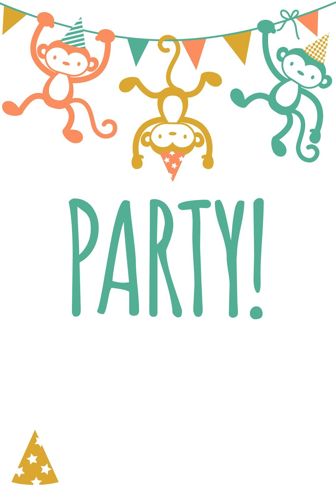 Free Printable Childrens Party Invitation   Free Printables   Free - Free Printable Birthday Invitations For Kids
