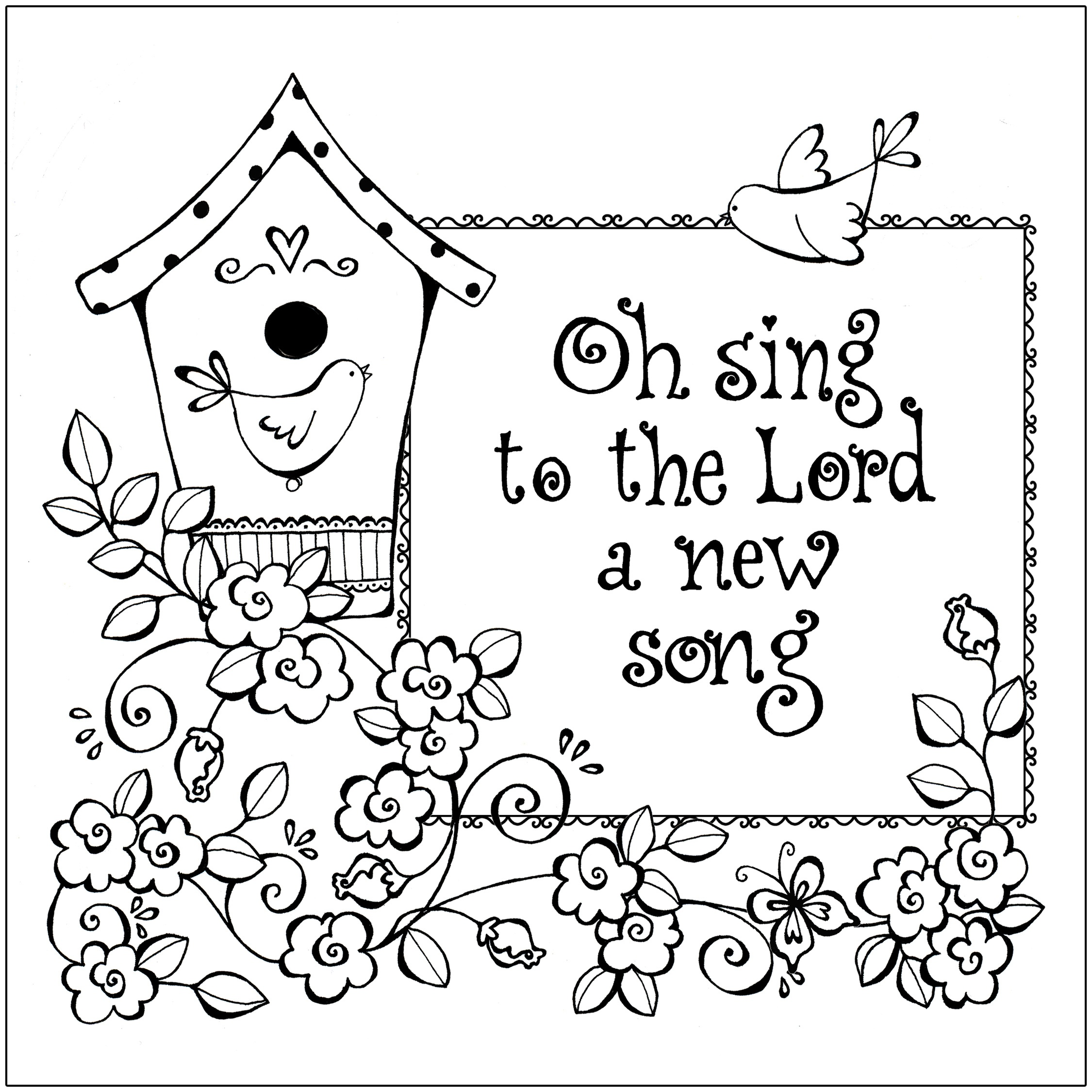 Free Printable Christian Coloring Pages For Kids - Best Coloring - Free Printable Sunday School Coloring Sheets
