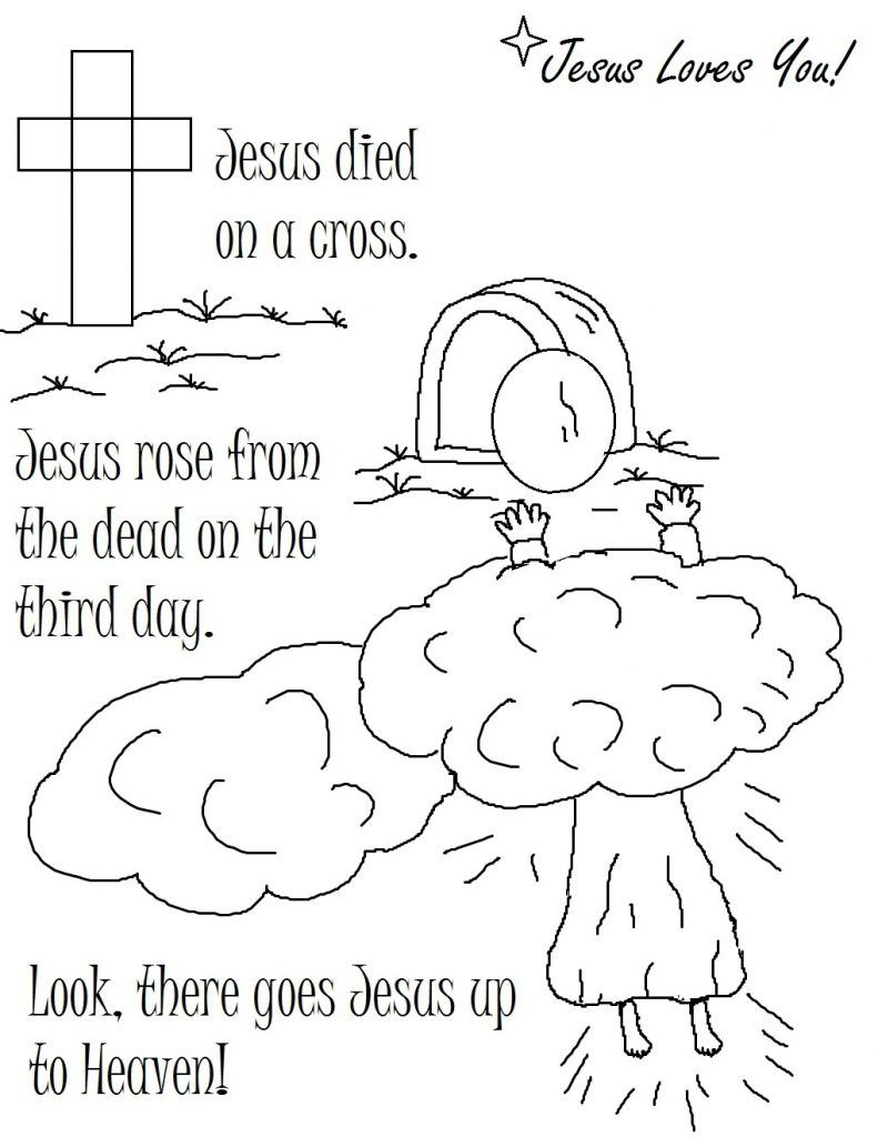 Free Printable Christian Coloring Pages For Kids   Coloring Pages - Free Printable Sunday School Coloring Pages