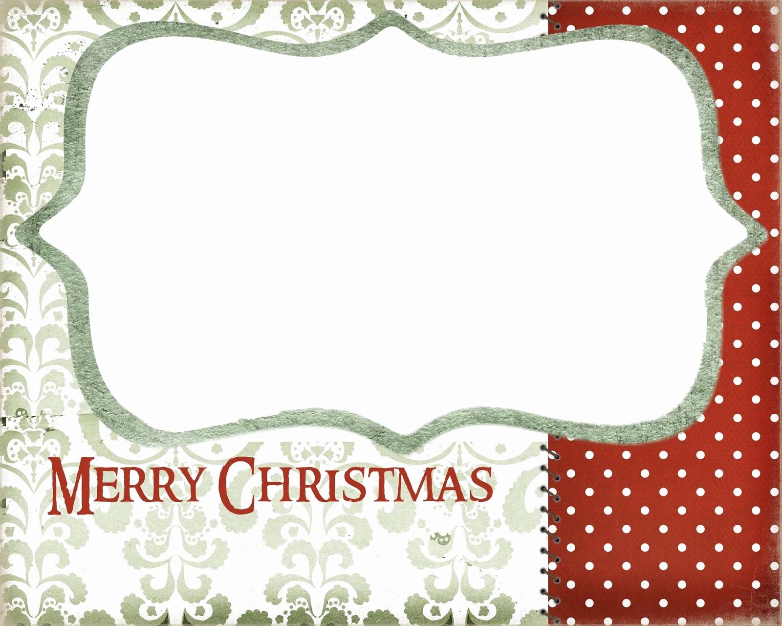 Free Printable Christmas Card Templates For Photos Awesome Christmas - Free Printable Christmas Card Templates