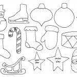 Free Printable Christmas Decoration Templates | Natal | Christmas   Free Printable Christmas Ornament Patterns