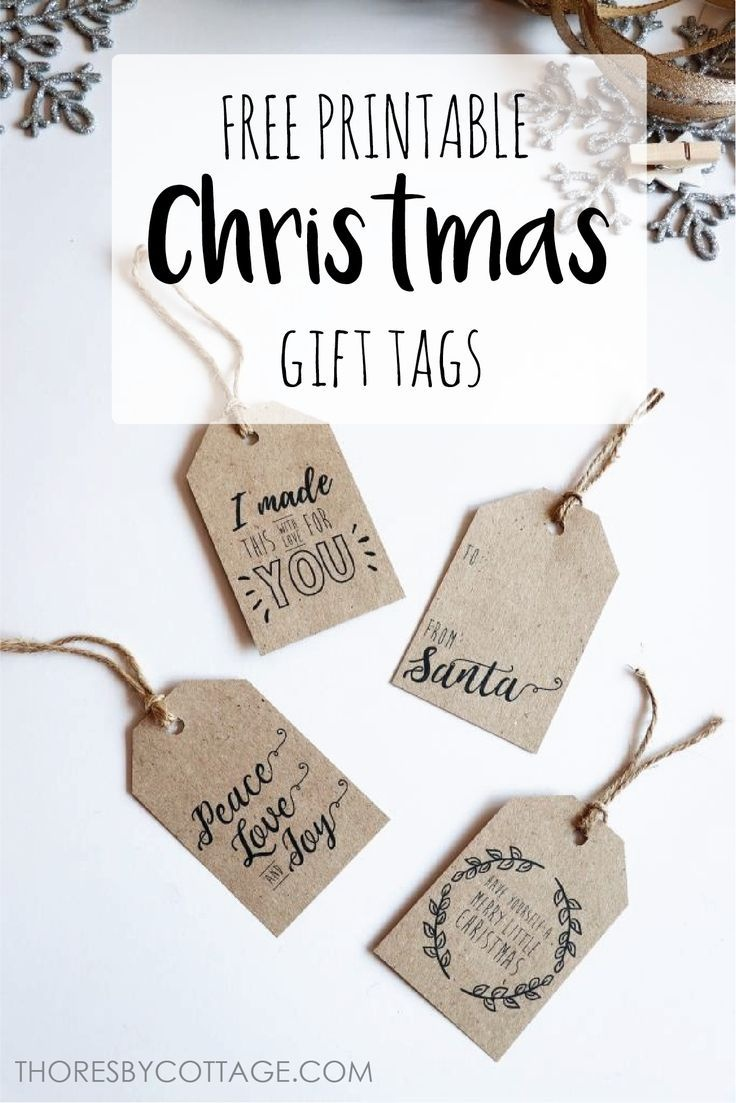 Free Printable Christmas Gift Tags | Free Printables | Free - Diy Gift Tags Free Printable