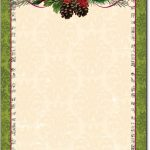 Free Printable Christmas Paper Stationery   Google Search   Free Printable Christmas Letterhead