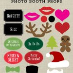 Free Printable Christmas Photo Booth Props And Signs From Elegance   Free Printable Christmas Party Signs