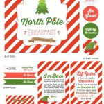 Free Printable Christmas Photo Booth Props | Catch My Party   Free Printable Christmas Party Signs