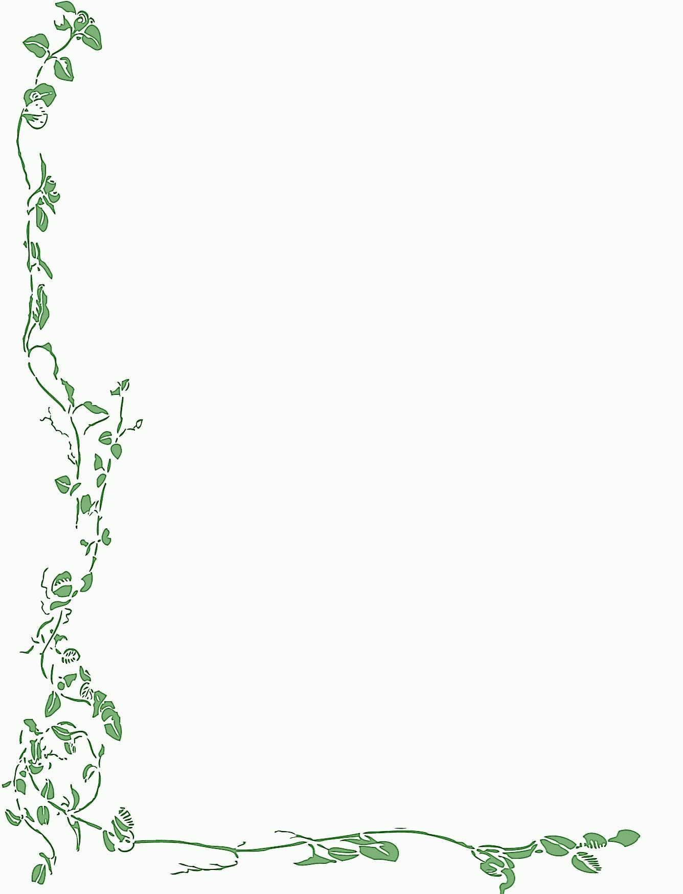 Free Printable Christmas Stationary Borders | Free Printable Spring - Free Printable Spring Stationery