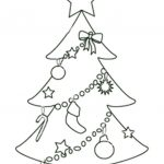 Free Printable Christmas Tree Templates | Free Printable Coloring   Free Printable Christmas Tree Ornaments Coloring Pages