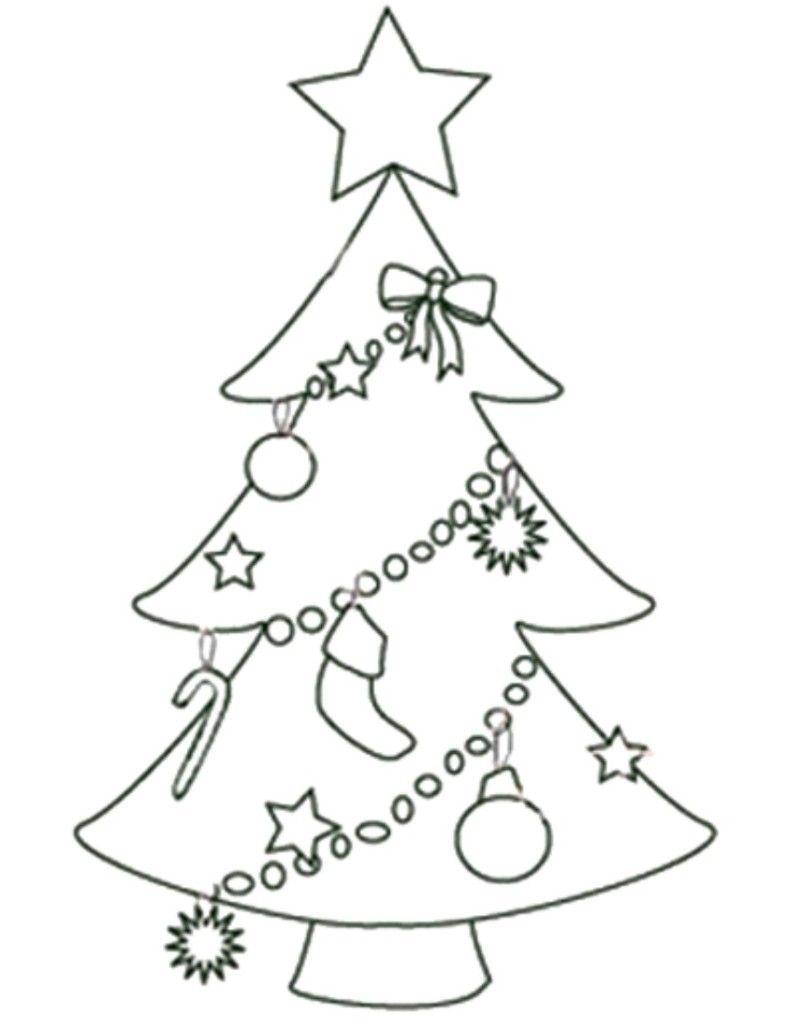 Free Printable Christmas Tree Templates   Free Printable Coloring - Free Printable Christmas Tree Template