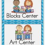 Free Printable Classroom Labels For Preschoolers 12 Of Template For   Free Printable Classroom Labels With Pictures