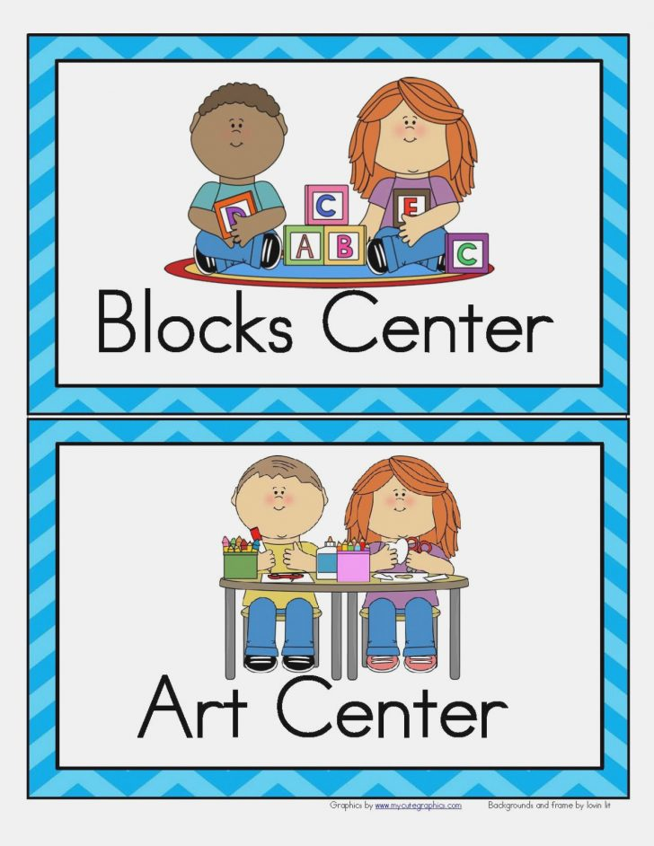Free Printable Classroom Labels With Pictures