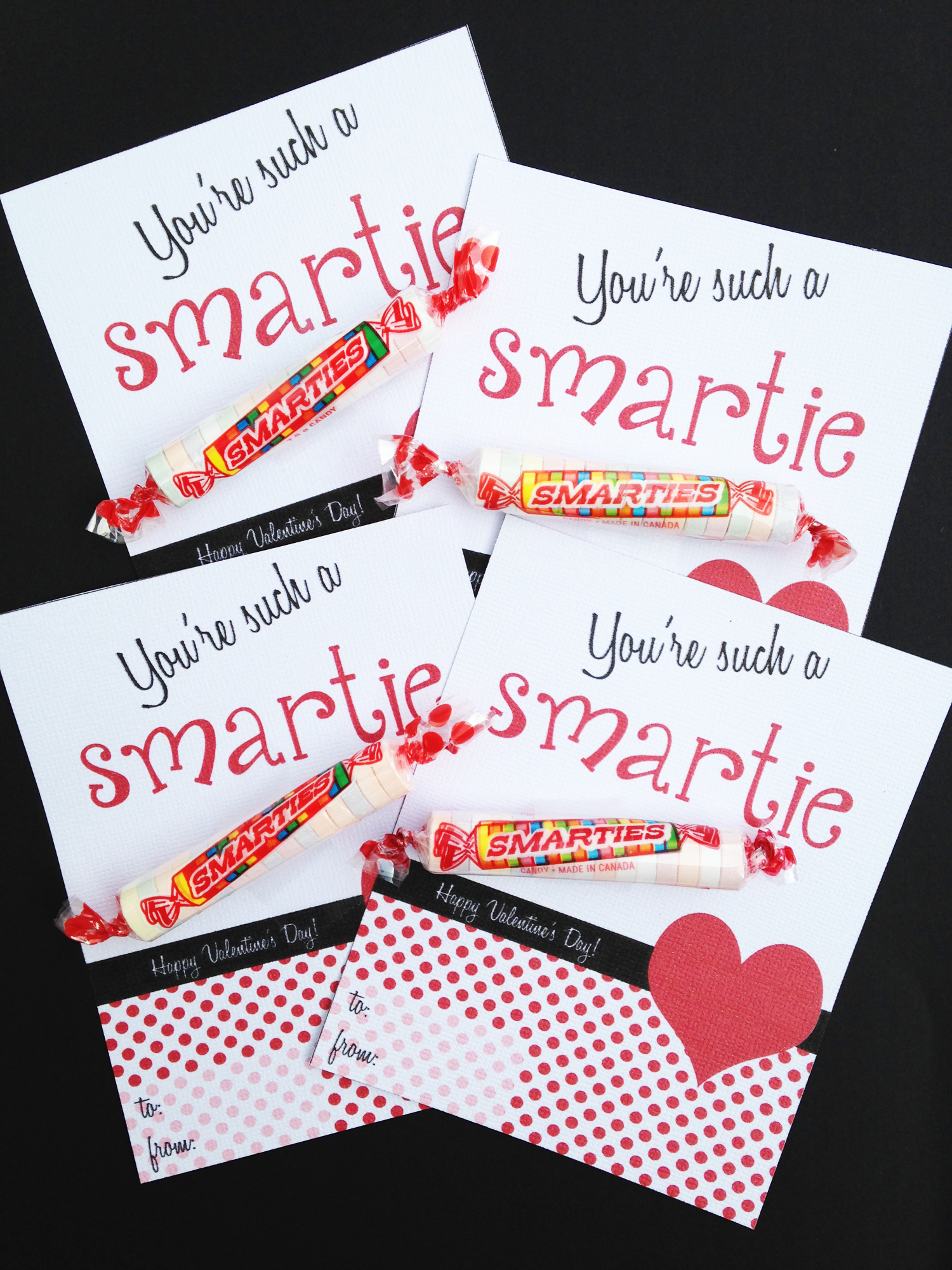 Free Printable Classroom Valentines | Catch My Party - Free Printable School Valentines Cards