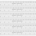 Free Printable Cm/inch Ruler | Math Mania!! | Printable Ruler, Free   Free Printable Cm Ruler