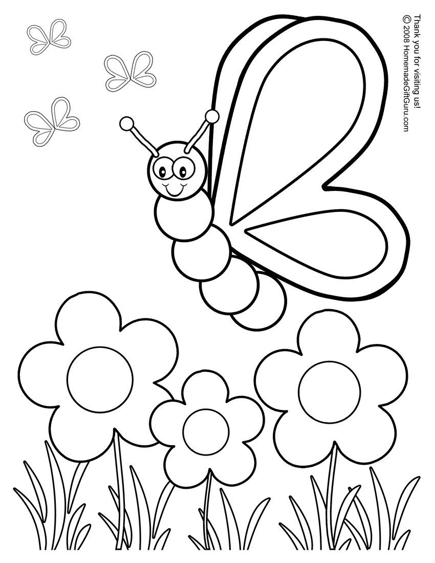 Free Printable Coloring Pages 01 | Fitness | Preschool Coloring - Free Printable Coloring Pages For Preschoolers