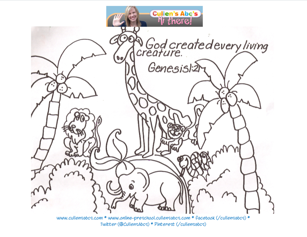 Free Printable Coloring Pages Of Creation Story - Coloring Home - Free Printable Bible Characters Coloring Pages
