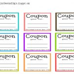 Free Printable Coupon Maker   Demir.iso Consulting.co   Free Sample Coupons Printable