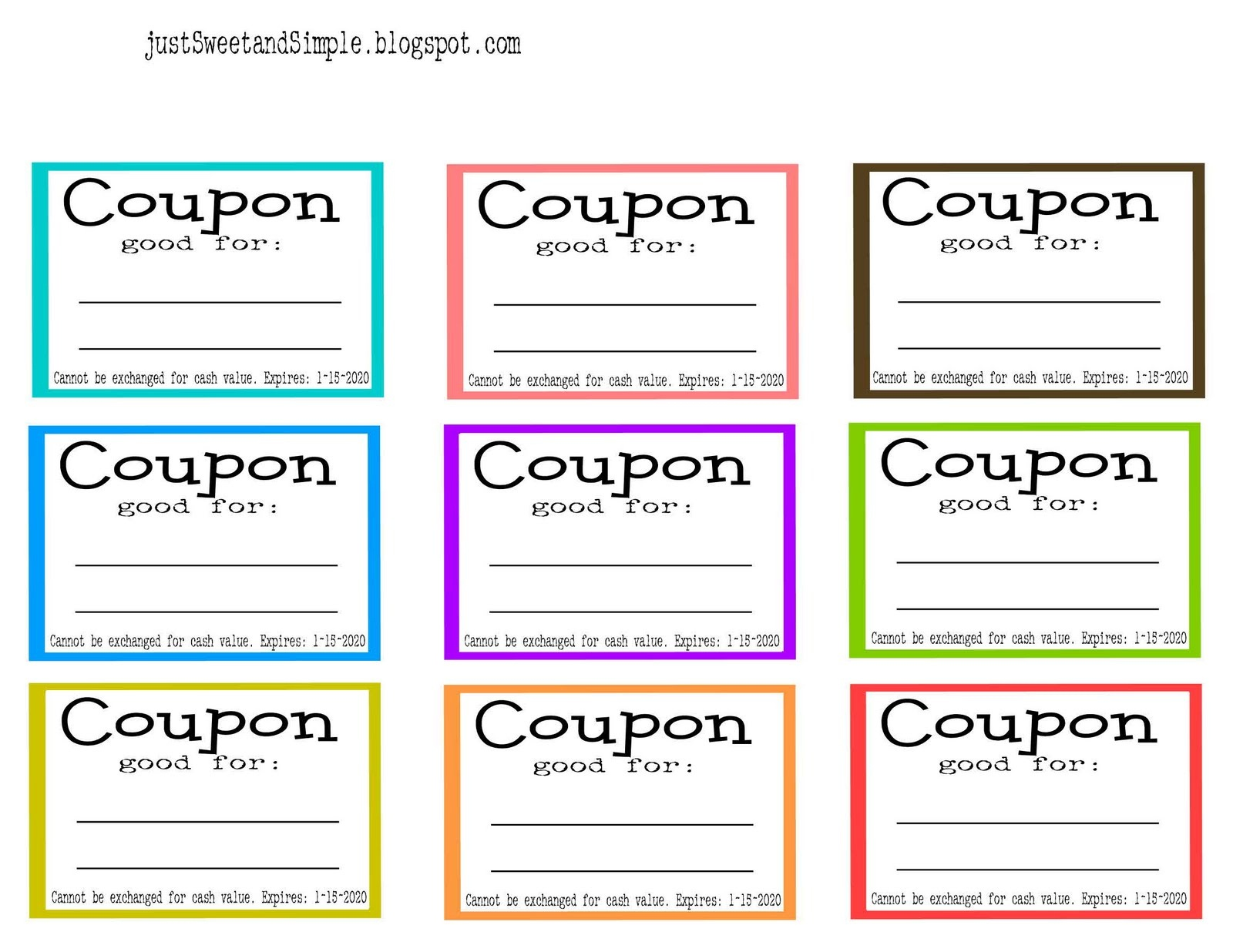Free Printable Coupon Maker - Demir.iso-Consulting.co - Make Your Own Printable Coupons For Free