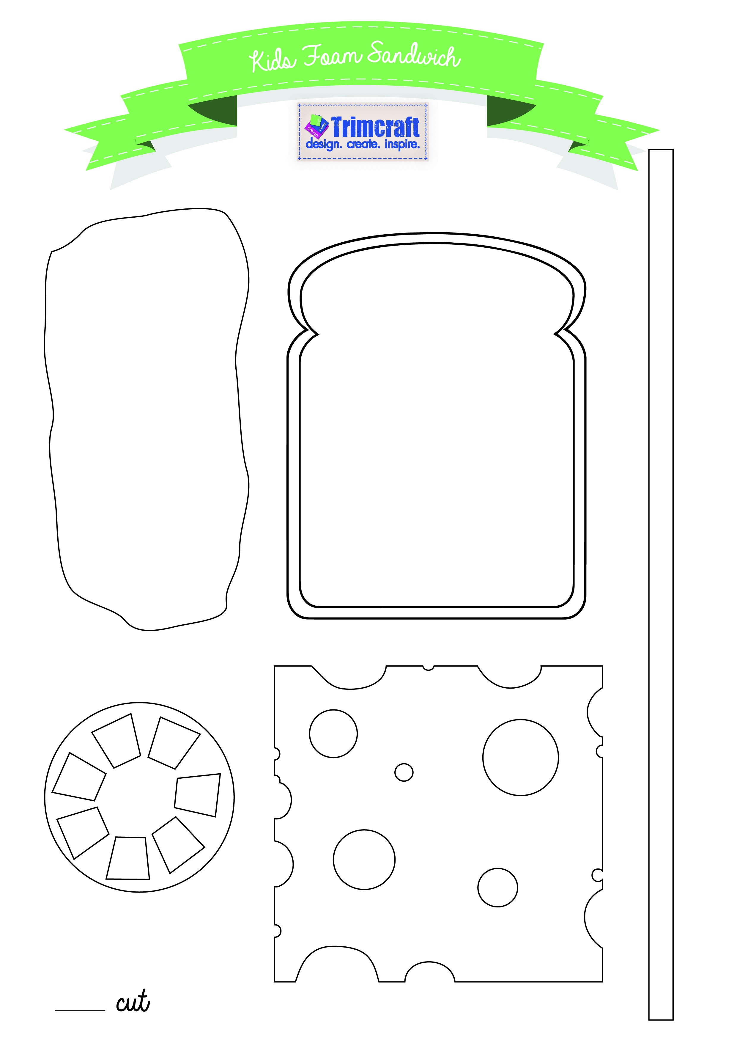 Free Printable Craft Templates | The Craft Blog - Free Printable 3D Letters
