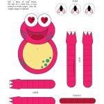 Free Printable Crafts For Girls | Isabel Morena Crafts | Crafts For   Free Printable Crafts For Preschoolers