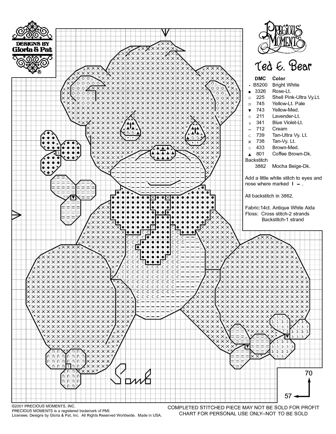 Free Printable Cross Stitch Patterns | Needlework Projects | Baby - Needlepoint Patterns Free Printable