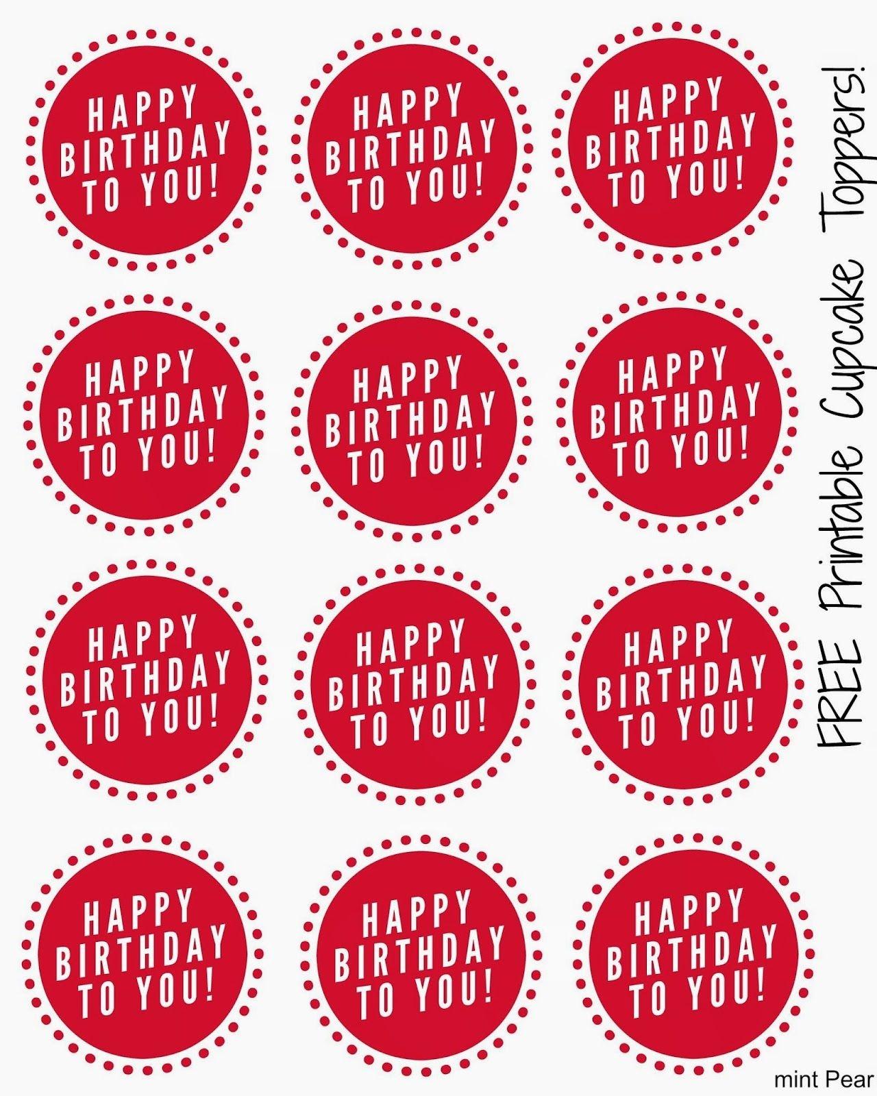 Free Printable Cupcake Toppers | L I T T L E L E A G U E . | Cupcake - Cupcake Topper Templates Free Printable
