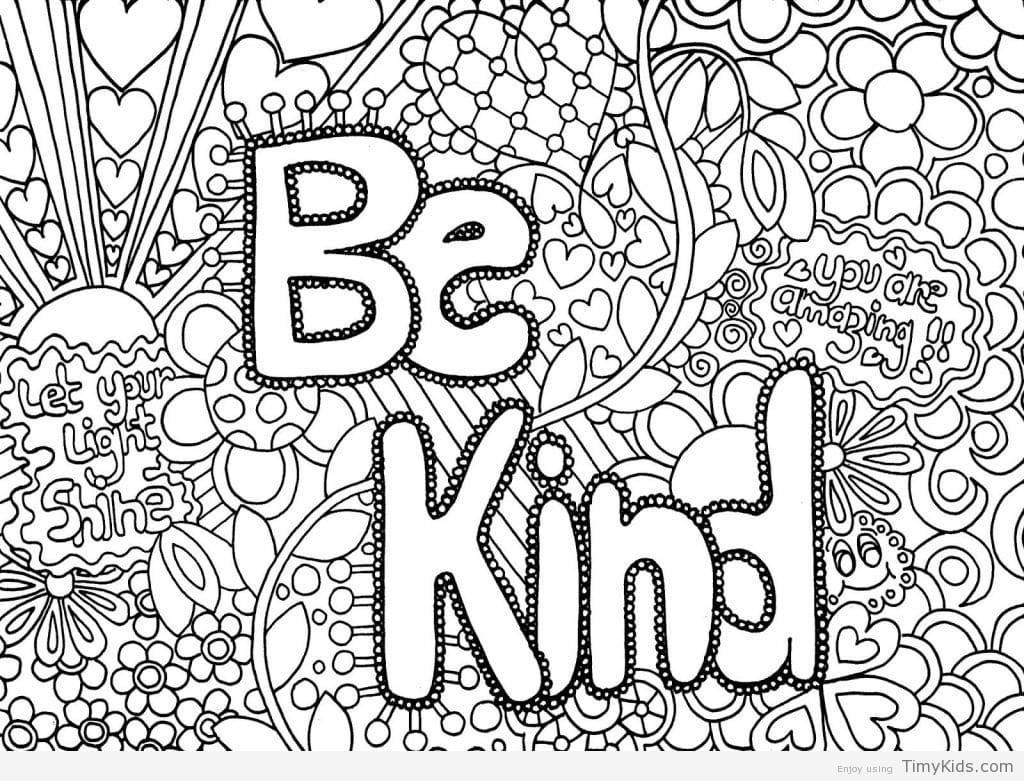 Free Printable Cute Coloring Pages For Girls - Quotes That Connect - Free Printable Coloring Pages For Girls