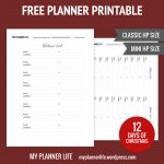 Free Printable – Day 5 – Address Book – My Planner Life   Free Printable Address Book