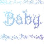 Free Printable Decorated Baby Card Greeting Card   Baby Shower Ideas   Free Printable Congratulations Baby Cards