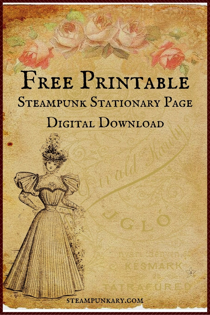 Free Printable Digital Download Stationary Page - Free Printable Stationary