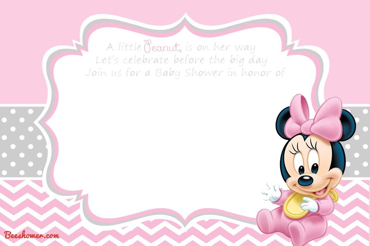 Free Printable Disney Baby Shower Invitations | Baby Shower | Free - Create Your Own Baby Shower Invitations Free Printable