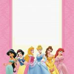 Free Printable Disney Princess Ticket Invitation | Party | Disney   Free Printable Disney Invitations