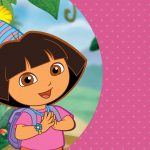 Free Printable Dora The Explorer Invitations   Dora The Explorer Free Printable Invitations