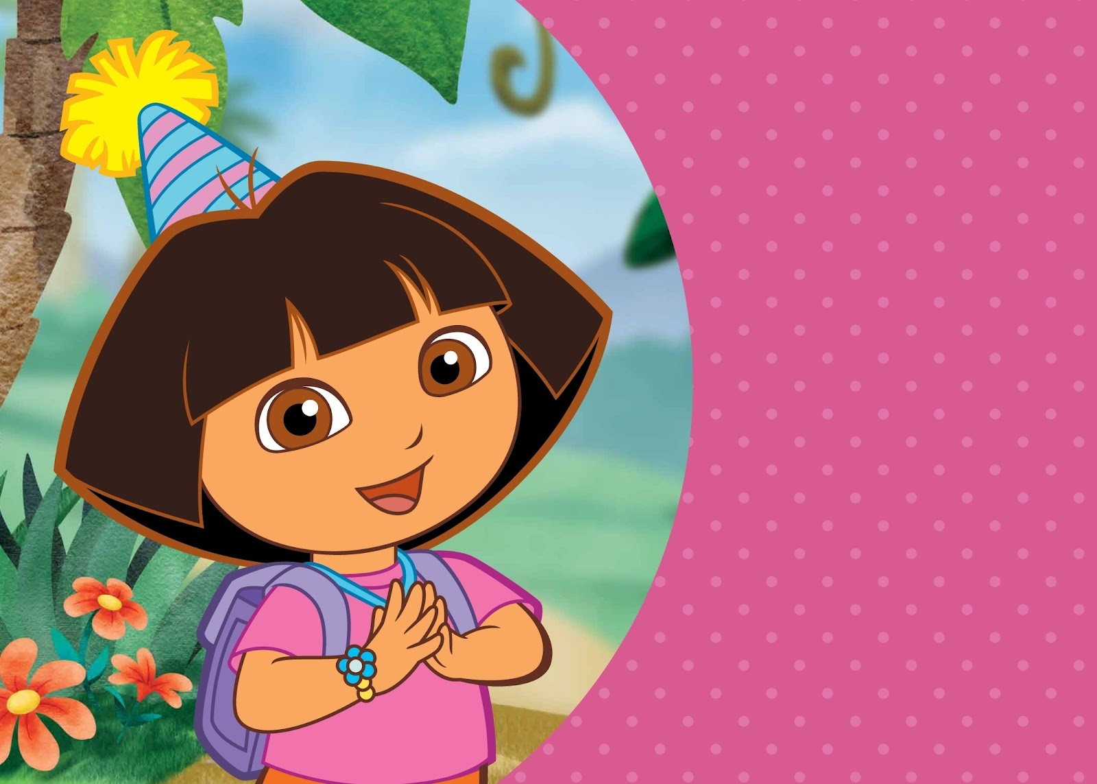 Free Printable Dora The Explorer Invitations - Dora The Explorer Free Printable Invitations