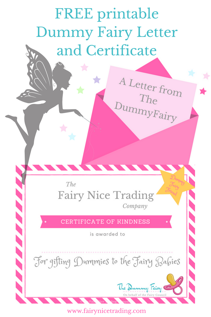 Free Printable Dummy Fairy Letter   1 Lesson Planning   Fairy, Free - Pin The Dummy On The Baby Free Printable