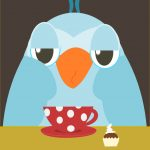 Free Printable Early Bird Illustration   Kaffeeeule Clipart   Printable Thangles Free