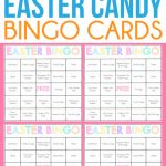 Free Printable Easter Bingo Cards For One Sweet Easter   Play Party Plan   Free Printable Bingo Games