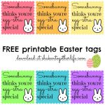 Free Printable Easter Gift Tags – Hd Easter Images   Free Printable Easter Tags