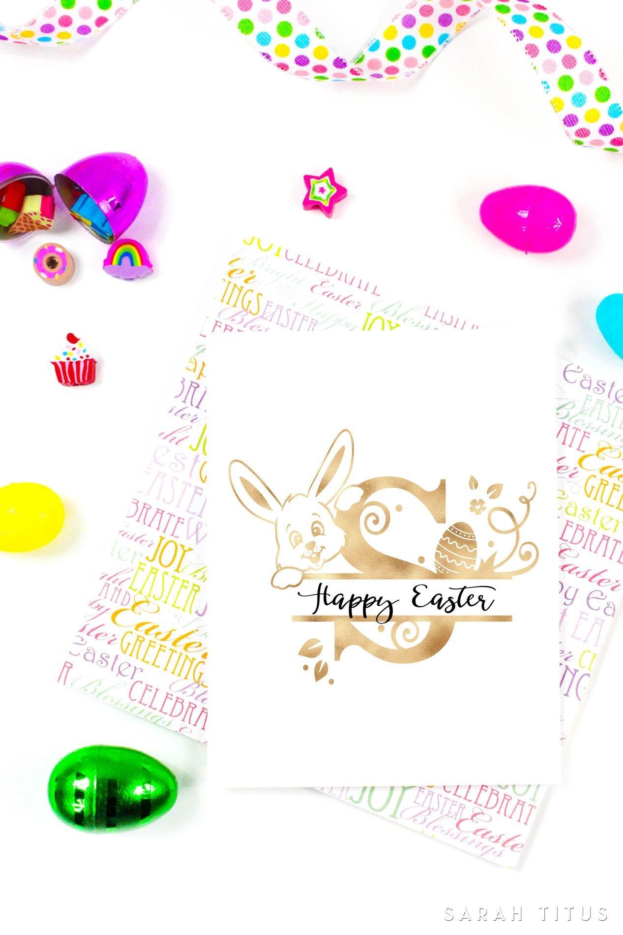 Free Printable Easter Monogram Signs | Easter Printables | Monogram - Free Printable Easter Decorations