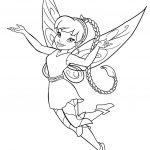 Free Printable Fairy Coloring Pages For Kids | Coloring Therapy   Free Printable Fairy Coloring Pictures