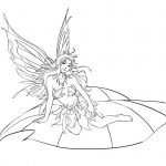 Free Printable Fairy Coloring Pages For Kids | Fairies | Fairy   Free Printable Fairy Coloring Pictures