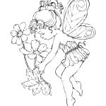 Free Printable Fairy Coloring Pages For Kids   Free Printable Fairy Coloring Pictures