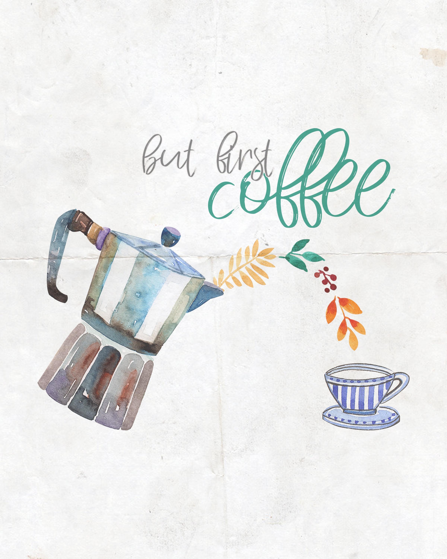 Free Printable Farmhouse Coffee And Tea Wall Art Collection - The - Free Coffee Printable Art