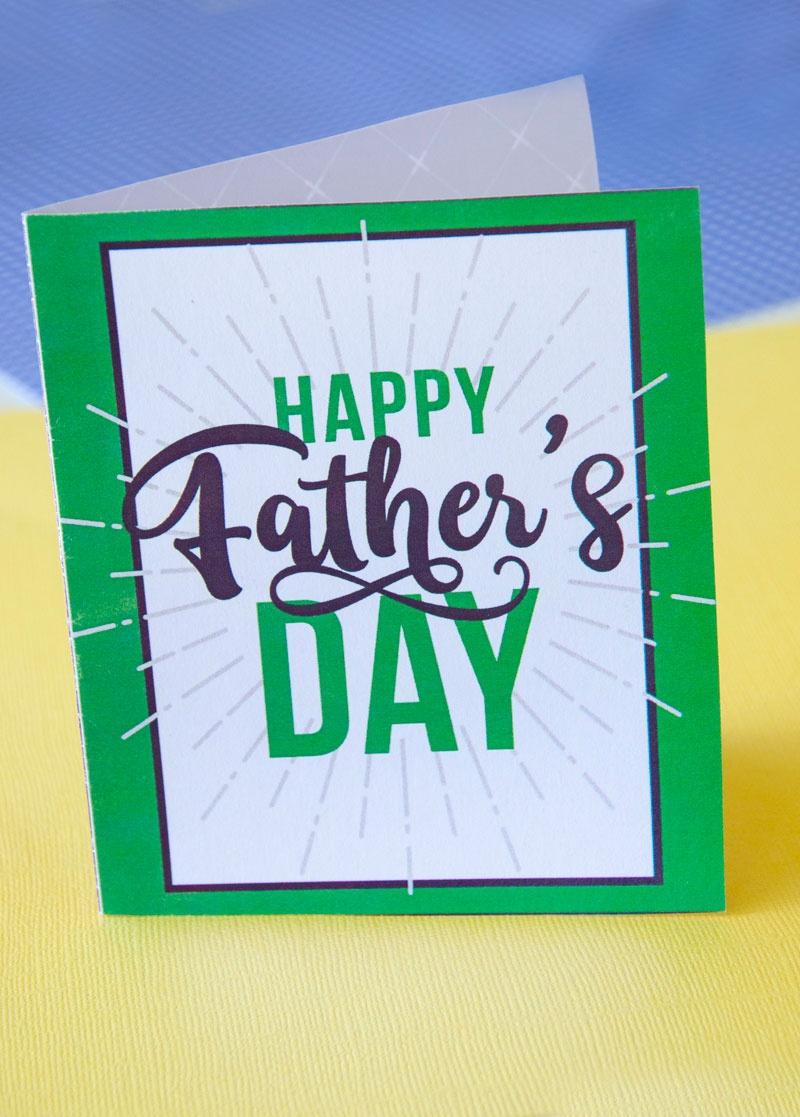 Free Printable Father's Day Cardlindi Haws Of Love The Day - Free Happy Fathers Day Cards Printable