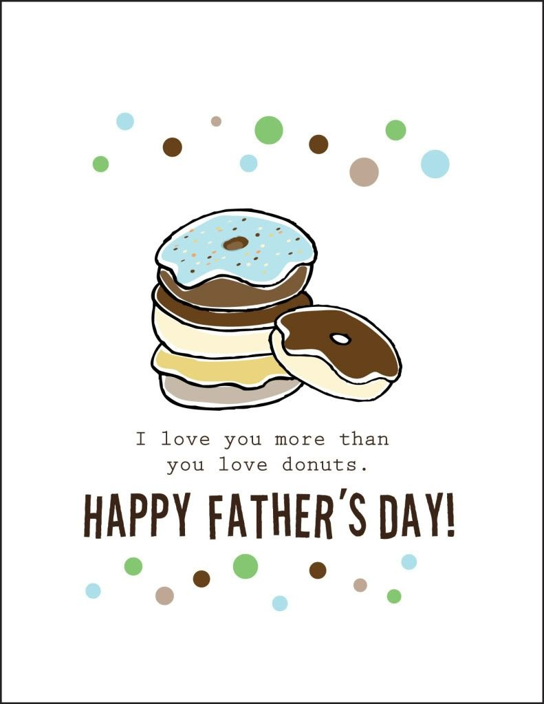 Free Printable Fathers Day Cards |  Cardstock Paper Will Print 2 - Free Happy Fathers Day Cards Printable